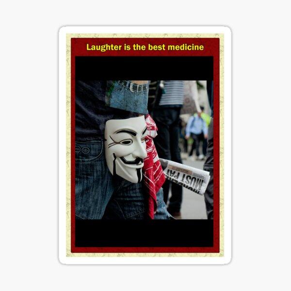 Laughter is the best medecine Sticker