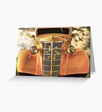 A Dream Car Greeting Card
