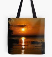 Sunset Across Okee Bay Tote Bag