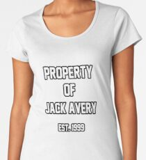 Property of Jack Avery Women's Premium T-Shirt