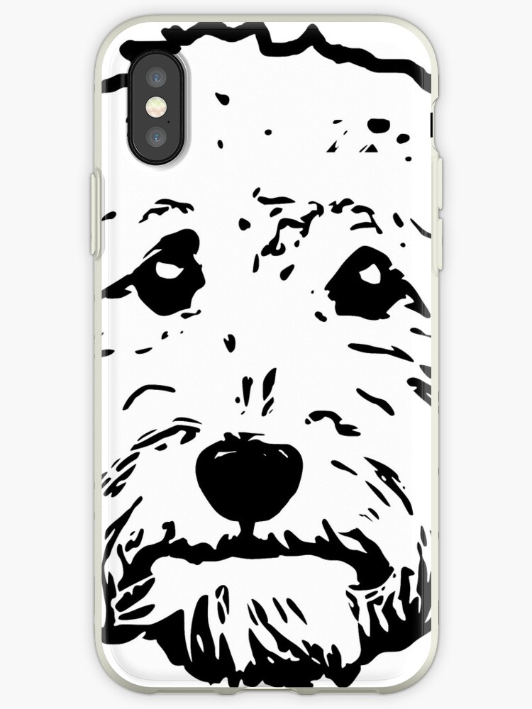 Cute Poodle Dog Hard Snap On Cell Phone Case Cover Cao For Best