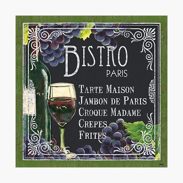 Bistro Paris Photographic Print