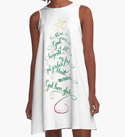 Ære være Gud i det høyeste A-Line Dress