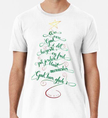 Ære være Gud i det høyeste Men's Premium T-Shirt