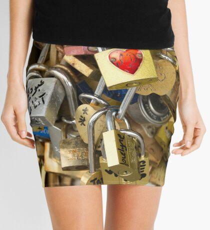 Key to My Heart Mini Skirt