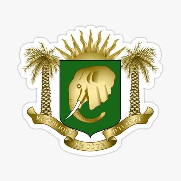 Armoiries de la Côte d'Ivoire Sticker