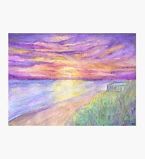 Flagler Beach Sunrise Photographic Print