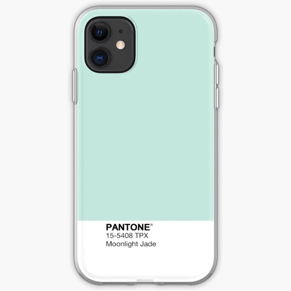 Pantone - Moonlight Jade iPhone Soft Case