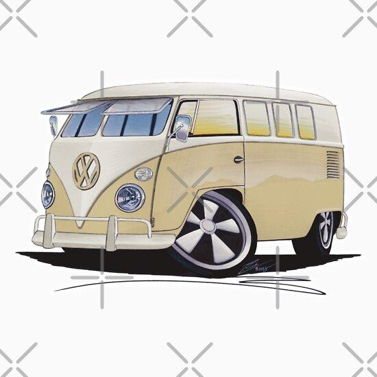 TShirtGifter presents: VW Splitty (11 Window) Camper