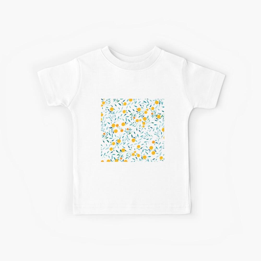 Naranjo Camiseta para niños