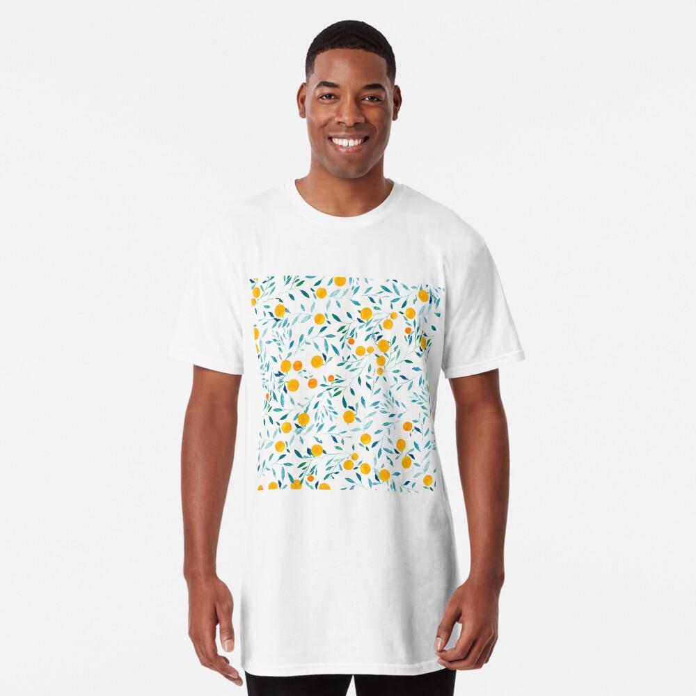 Naranjo Camiseta larga