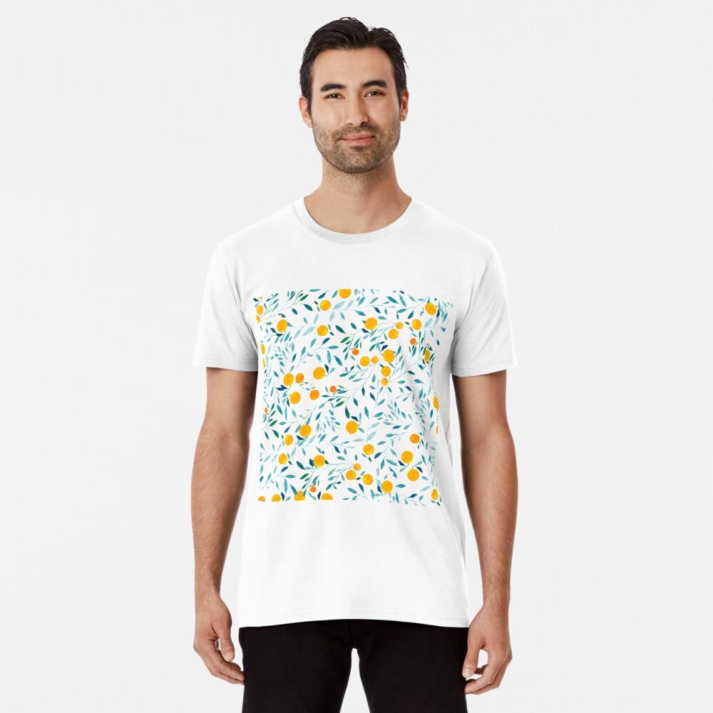 Naranjo Camiseta premium
