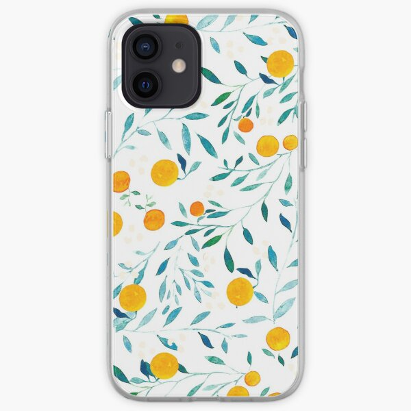 Orange Tree iPhone Soft Case