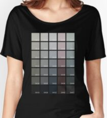 Shades of Grey Pantone Women's Relaxed Fit T-Shirt