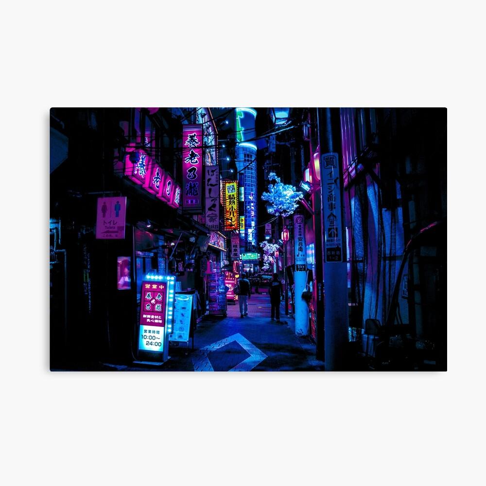 Blade Runner Vibes Canvas Print