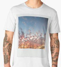 Sunset tree line Polaroid Men's Premium T-Shirt