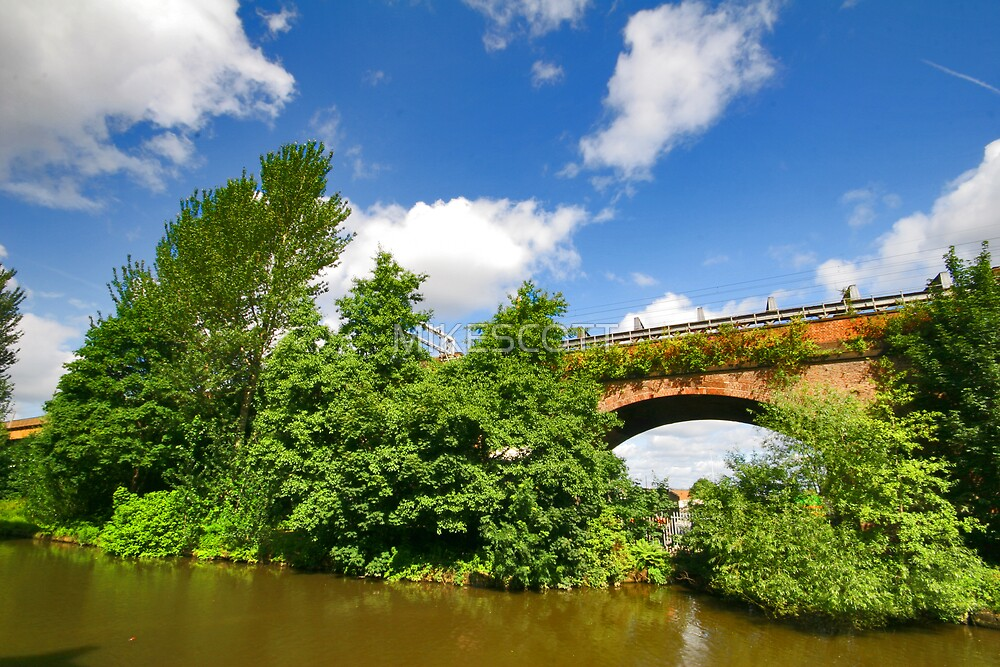 CASTLEFIELD VIADUCT by MIKESCOTT