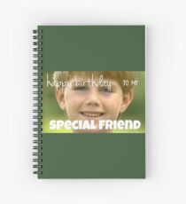kazoo kid birthday card Spiral Notebook