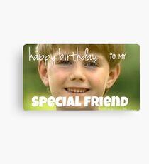 kazoo kid birthday card Canvas Print