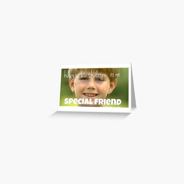 kazoo kid birthday card Greeting Card
