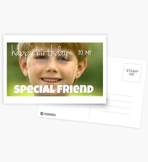 kazoo kid birthday card Postcards