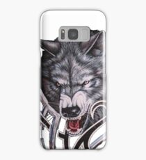 Wolves game of thrones-nymeria and ghost Samsung Galaxy Case/Skin
