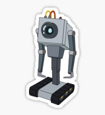 Rick and Morty - Butter robot Sticker