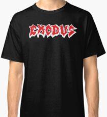 Band Exodus Logo Red Classic T-Shirt