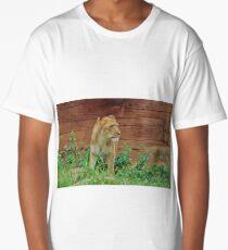 African Lioness Long T-Shirt