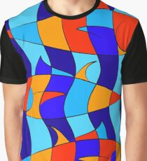 Elsebius - Tres Pescados Graphic T-Shirt