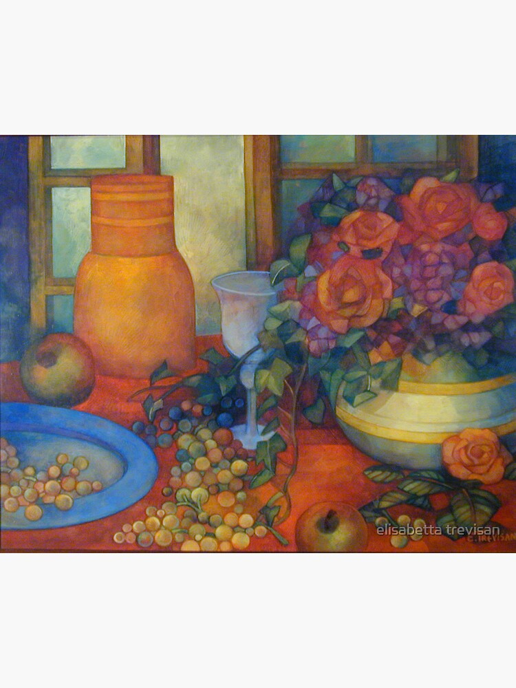 still life with roses by betta