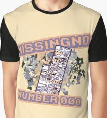 Missingno Number 0 Graphic T-Shirt