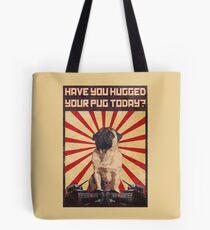 Propaganda Pug Tote Bag