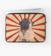 Propaganda Pug Laptop Sleeve