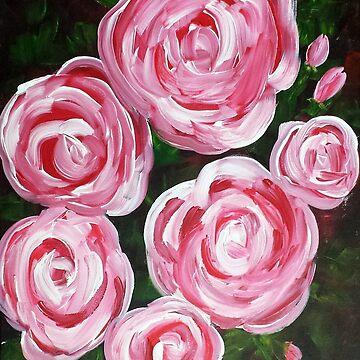 White Roses Red by JABK