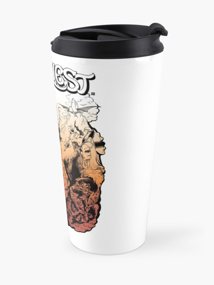 Alternate view of Elfquest, by Wendy and Richard Pini Travel Mug
