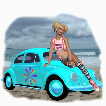 Beach Bum Tee by mystical