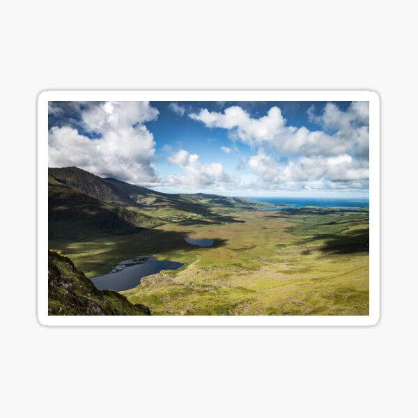 The Conor Pass, Co Kerry. Sticker