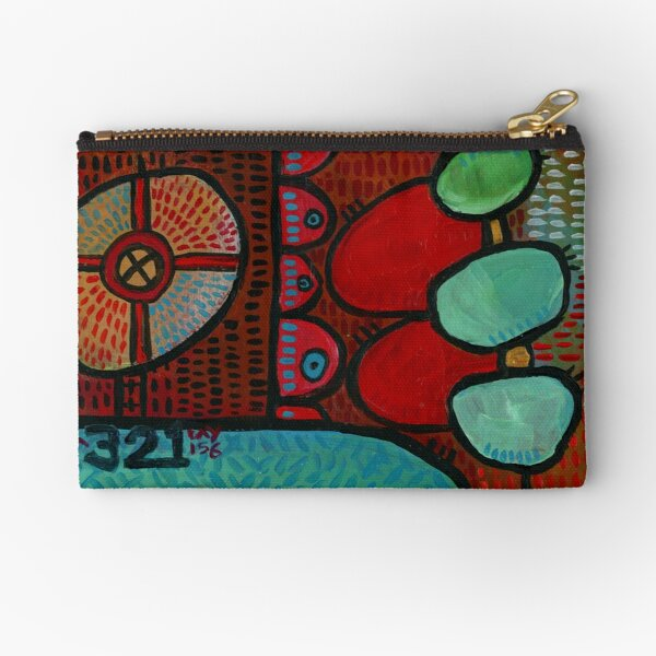 Project 321 - You're a Warrior Zipper Pouch