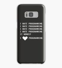 I HATE PROGRAMMING Samsung Galaxy Case/Skin