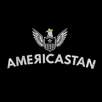 Funny 'Americastan,' US Authoritarian State, 'official' emblem featuring Trumped up Eagle. by KnockoutTees
