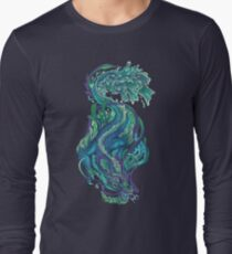 Imperial Water Dragon Long Sleeve T-Shirt