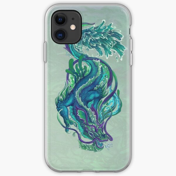 Imperial Water Dragon iPhone Soft Case