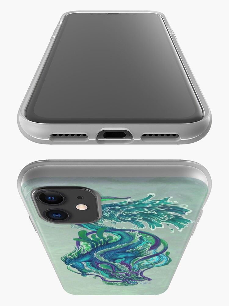 Alternate view of Imperial Water Dragon iPhone Case & Cover