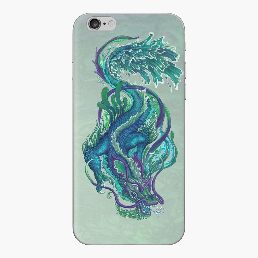 Imperial Water Dragon iPhone Skin
