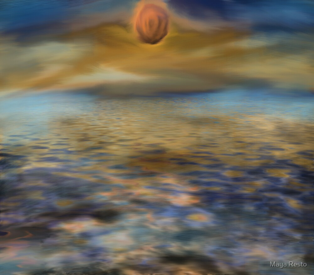 Mystery Sunset by Maya Resto