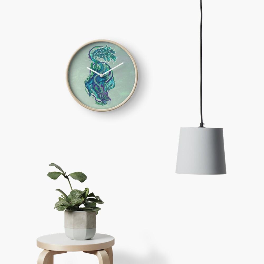 Imperial Water Dragon Clock