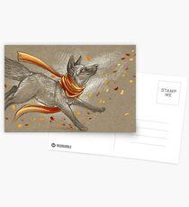 Autumn Frolic Postcards