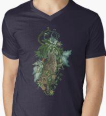Thorned Hyena V-Neck T-Shirt