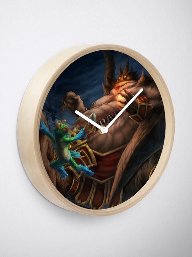 Alternate view of Slippery Clock